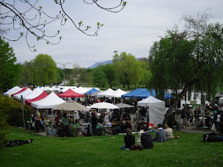 Farmers Market Began Its 2009 Season >> Yum O Rama Where I Live To Eat Event Trout Lake Farmers Market