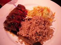Jamaican Jerk Pork Tenderloin at the Main Street location of The Reef