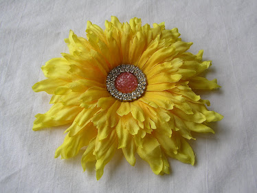 Yellow Flower Clip #3