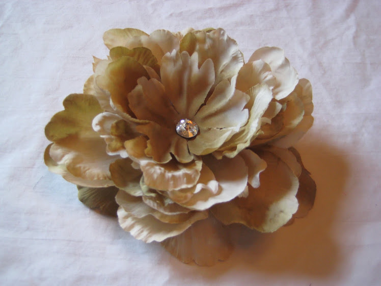 Xtra Large Fall Flower Comb #2