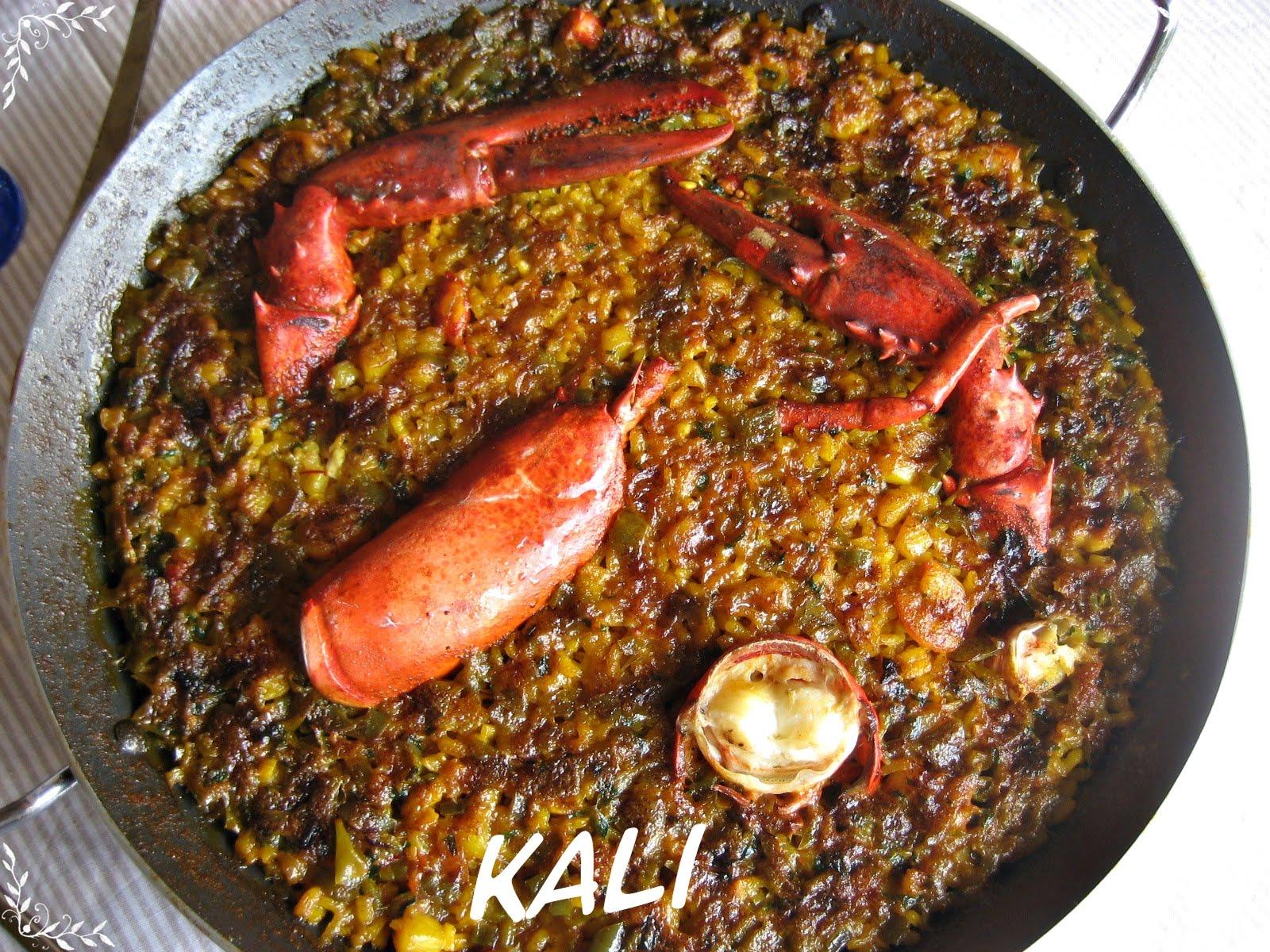 Recetas y trucos de cocina arroz al horno con bogavante - Receta bogavante al horno ...