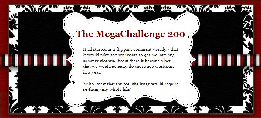 The MegaChallenge 200: The Exercise Blog that Became the Exorcise Blog