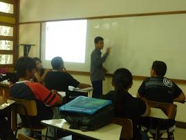 Míni-curso de MQF realizado pelo grupo Pet-Administração