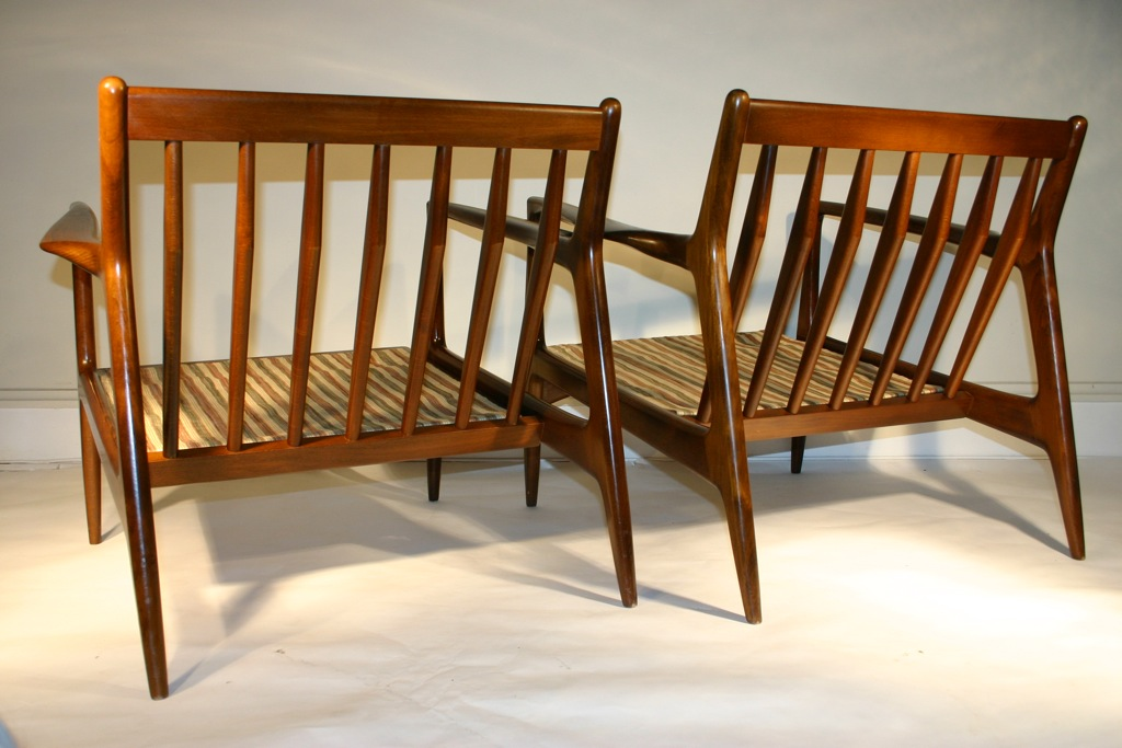 Designed by ib kofod larsen made in denmark circa 1960