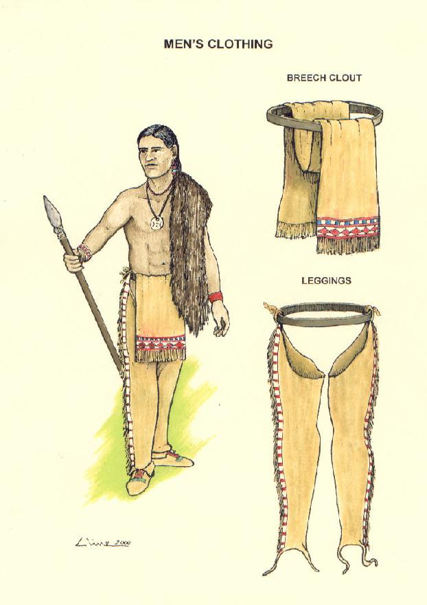 Native American Indian Men Clothing