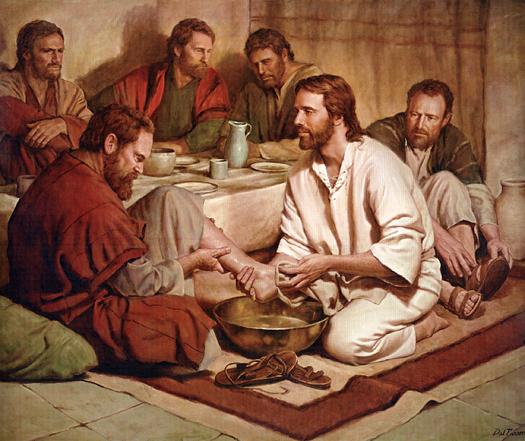 Evangelio 21 de Abril de 2011.- Jueves Santo Jesus+lava+los+pies