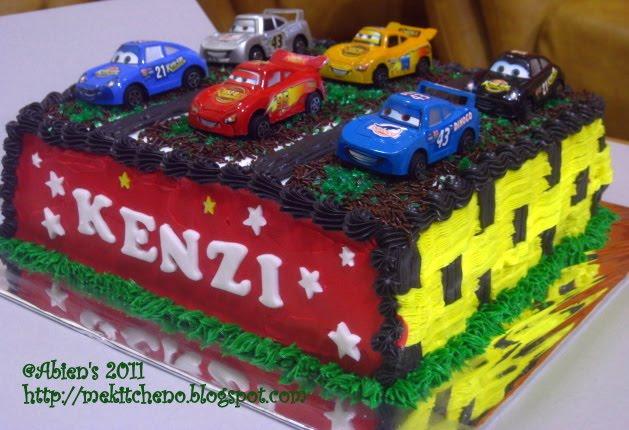 Kue Ulang Tahun Anak Kenzi s The Cars Pusat Kue Ulang Tahun Anak