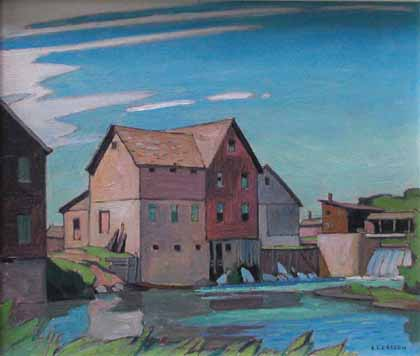 A.J. Casson - Tom Thomson Art Gallery - Owen Sound Ontario