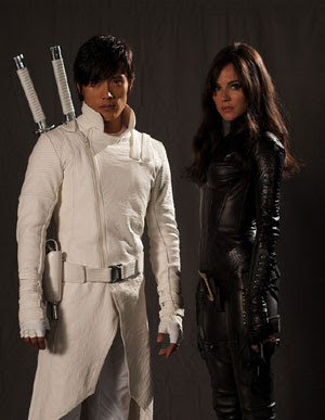 Storm Shadow (Lee Byung-Hun) and Baroness (Sienna Miller) - GI Joe Movie