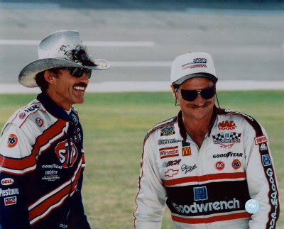 National Association  Stock  Auto Racing School on There Was Never Any Doubt That The King And The Intimidator Would Get