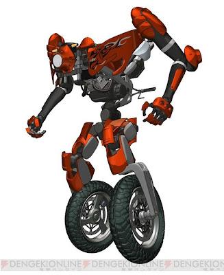 Ride The Machine Anime Rideback