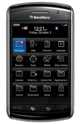 storm front - [GADGETS] Mais um celular touchscreen: Blackberry Storm.