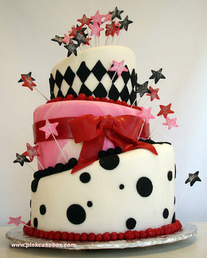 عيد ميلاد ((همسات انتى مجنونه)) Topsy_Turvey_Birthday_Cake_by_pinkcakebox