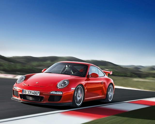 2010 Porsche 911 GT3 435hp flat v6