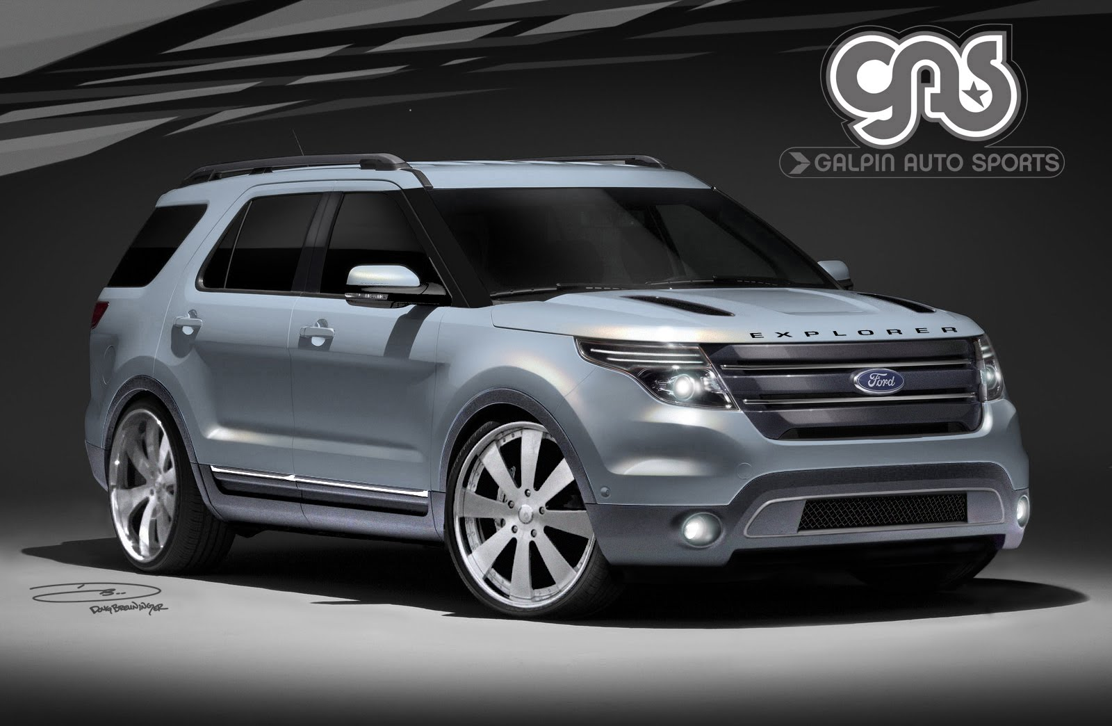 2011 Customized Ford Explorer, Edge, Taurus, Fusions & Lincoln MKX