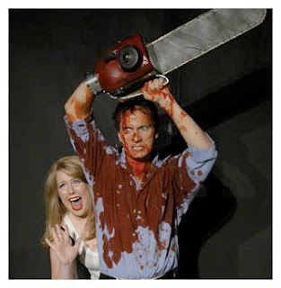 Evil Dead The Musical David Gallagher photo by Teresa Carson