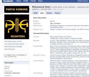 PKI di Facebook