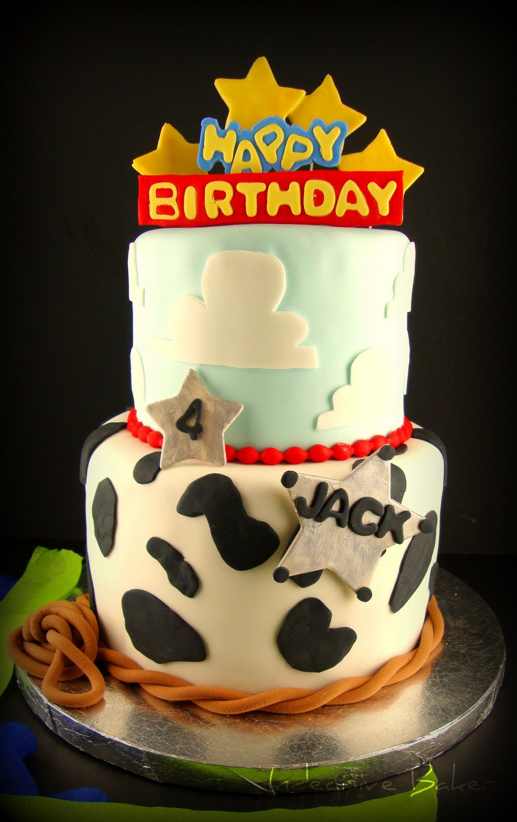 Indecisive Baker Toy Story Birthday Cake