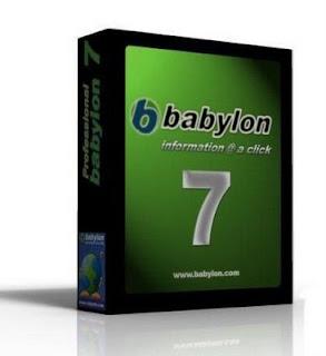 Babylon Pro v7.5.2 (r4) With working license Untitled