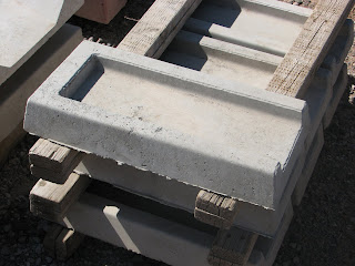Concrete Splash Blocks