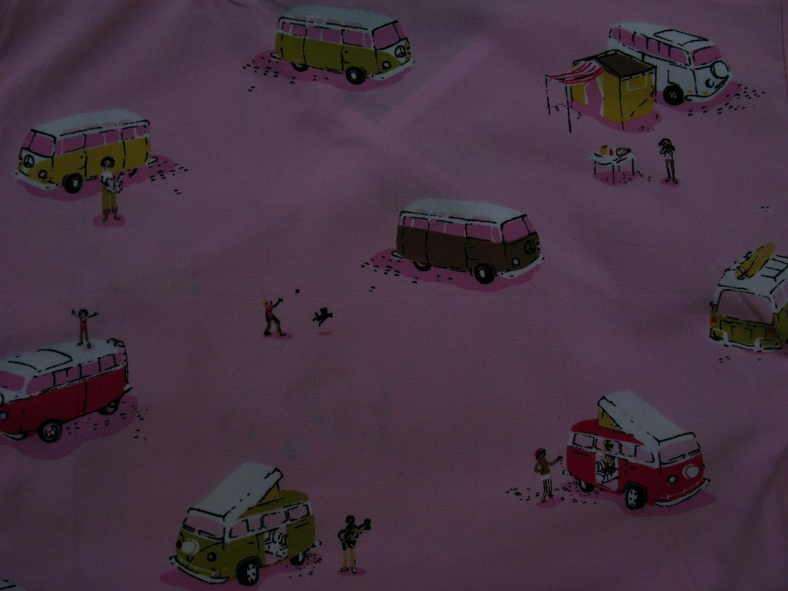 Ross VW Van Fabric.