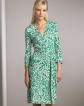 White Wrap Dress on Tidbit Dvf Green White Wrap Dress Jpg