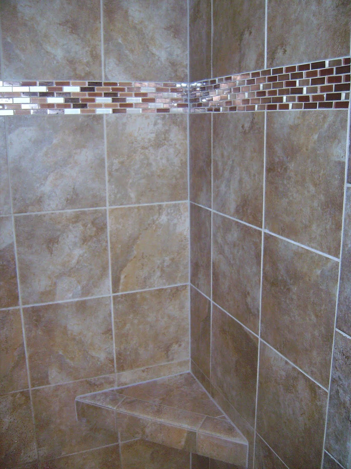 Custom Glass Tile Showers The Image Kid Has It