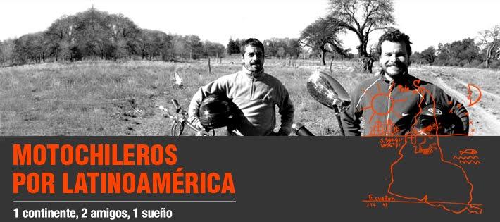 Motochileros por Latinoamérica