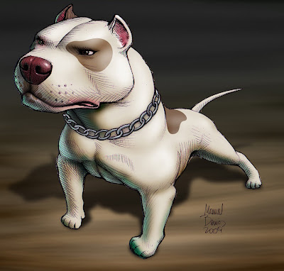 Imagenes Perros Pitbull Dibujados Tattoo Images