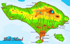 Map Bali Island