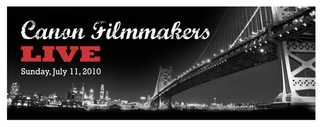 Canon Filmmakers Live