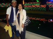 Emma C. Salazar  y Wilfredo Requena.