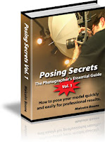 Book on posing for photographs