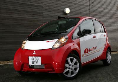 Auto elettriche secondo Mitsubishi