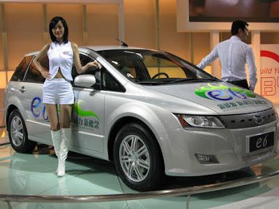 BYD e le sue auto elettriche