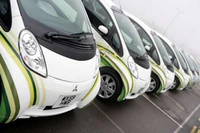 Primi test per le auto elettriche