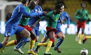 0-0 tra Italia e Camerun