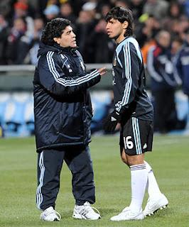 Maradona esclude Riquelme dai mondiali