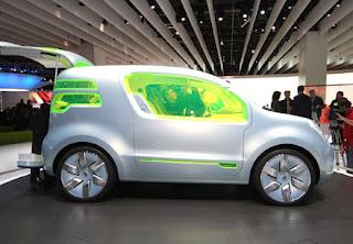 Il concept della Kangoo, gamma Renault ZE.