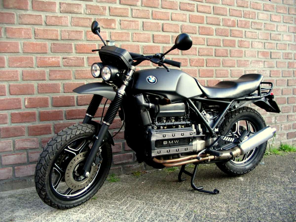 motorcycle 74 bmw k100 scrambler. Black Bedroom Furniture Sets. Home Design Ideas