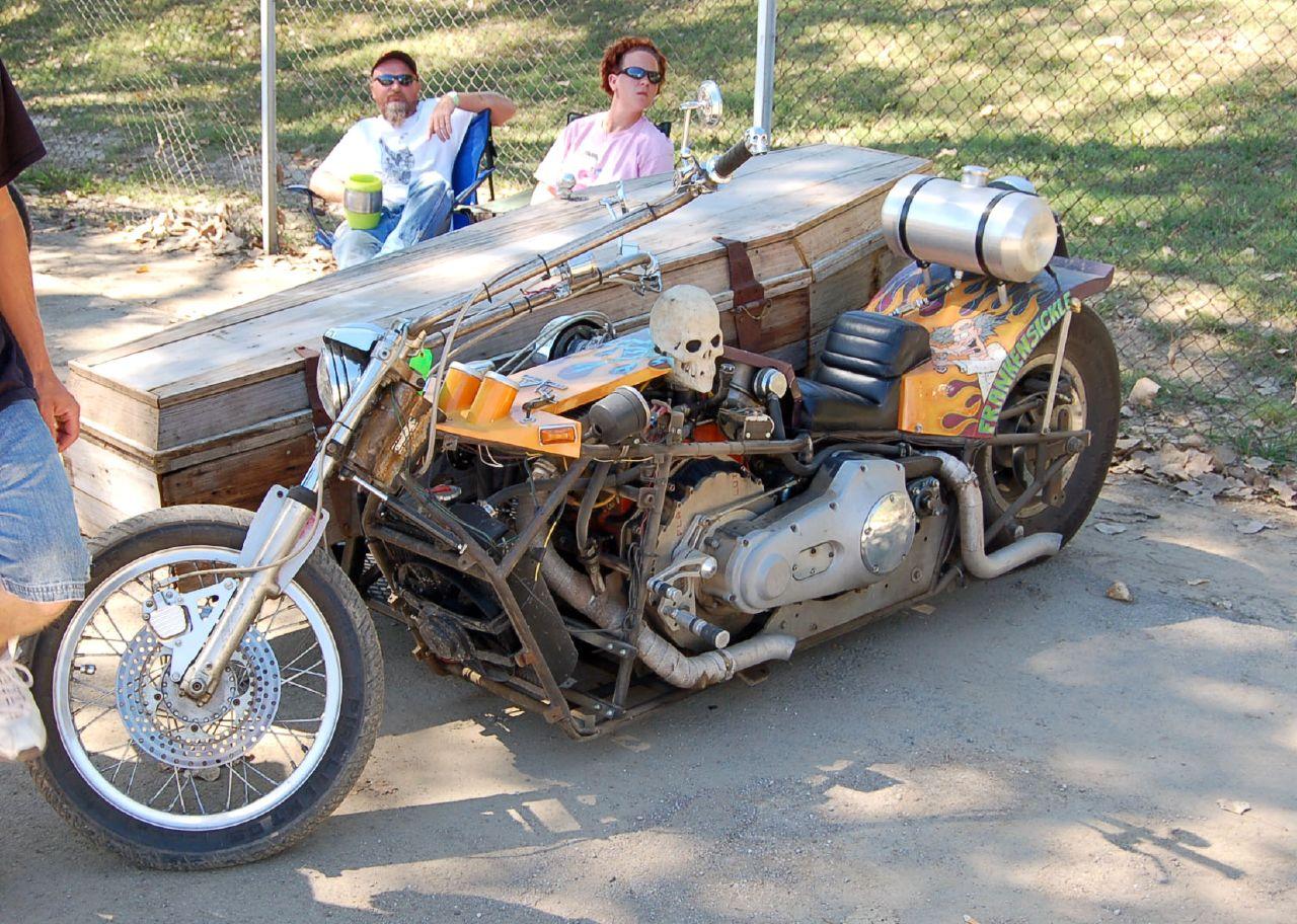 Байкерский мотоцикл своими руками