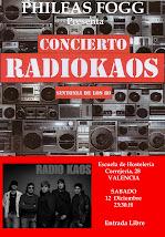 Radio Kaos en Phileas Fogg (12-12-2009)