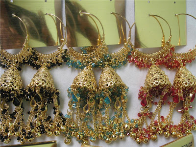 jhumka hoop earrings