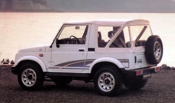 Suzuki Samurai (сузуки) .