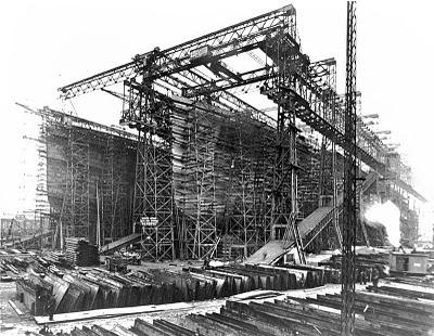 Titanic amigos del mundo virtual construccion del titanic - Construccion del titanic ...
