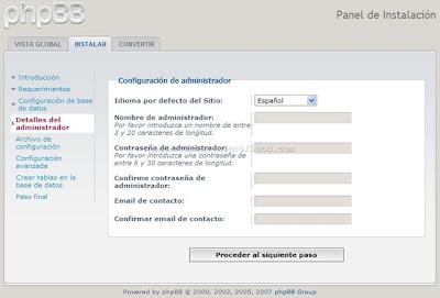 Crear un foro PHPBB3 Gratis 0710