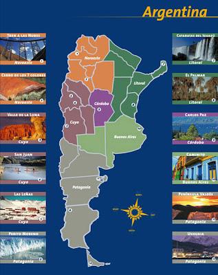 Turismo en Argentina Mapa_argentino_regional