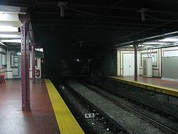 Vista de la estación Congreso de la línea A