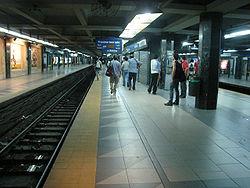 Vista de la estación Constitución de la línea C