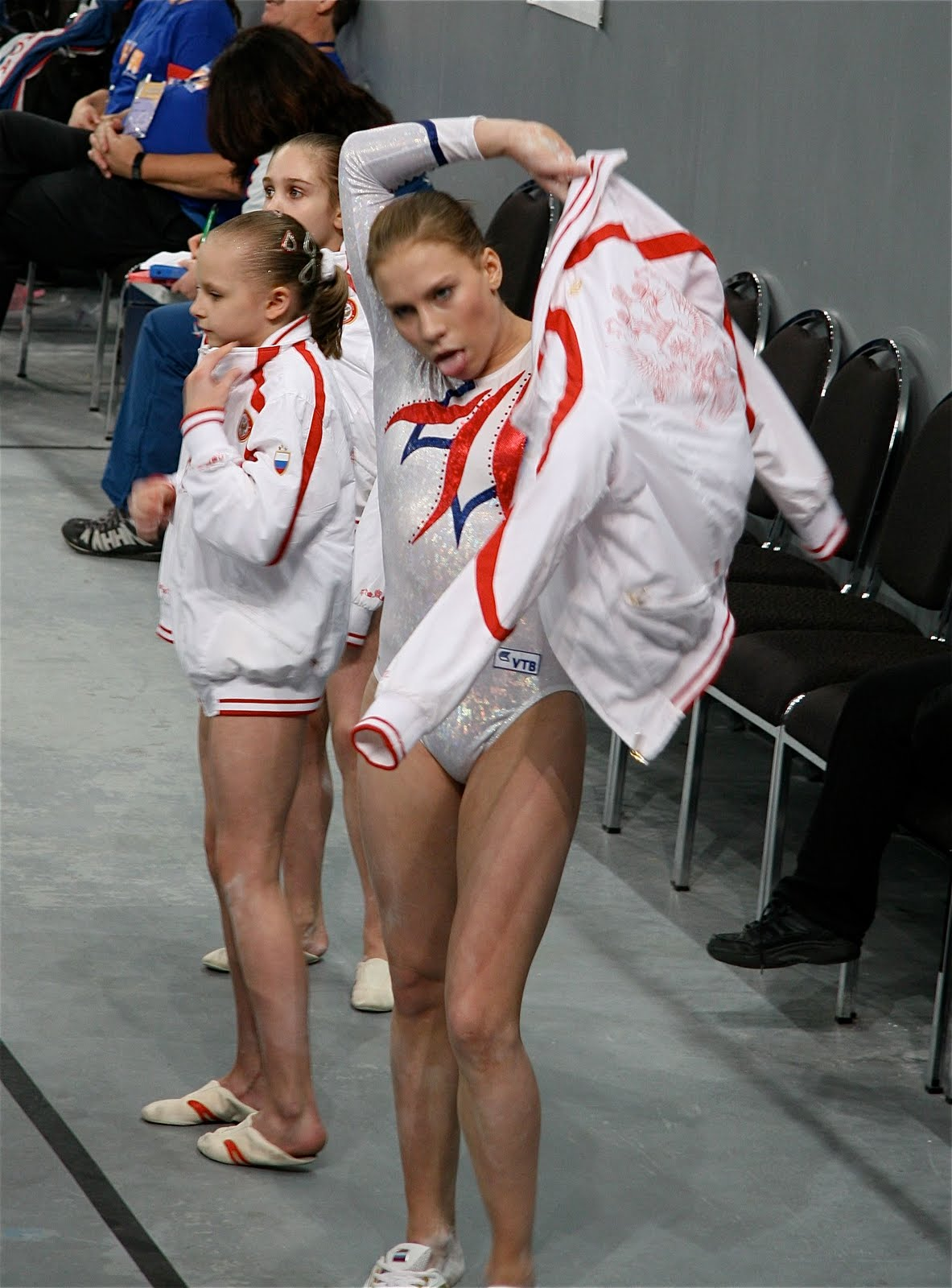 Wardrobe Malfunctions In Womens Gymnastics http://www.couch-gymnast.blogspot.com/2010/05/album-nonsense-candids-and-faves.html